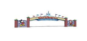 迪士尼乐园大门