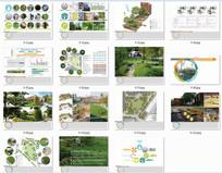 国外公园广场景观设计排版分析