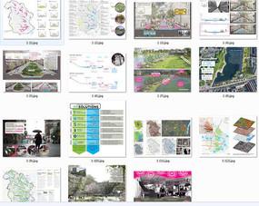 国外规划设计分析图参照
