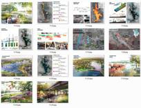 国外景观排版分析图
