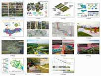 国外景观设计排版分析参照