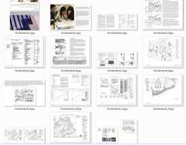 国外景观设计文本排版分析图
