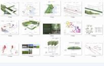 国外生态景观排版分析图