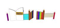 铅笔幼儿园大门