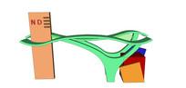 曲线幼儿园大门