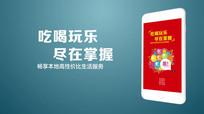 手机app品牌广告投放视频成片ae模版