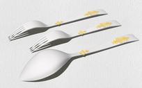 餐具勺子叉子