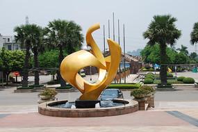 广场景观特色水景雕塑小品
