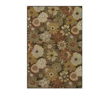 菊花图案地毯