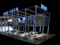 汽车销售展厅模型