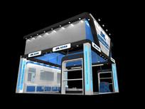 实业产品展览厅模型