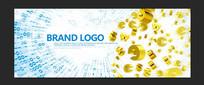数据金融网络画面广告设计