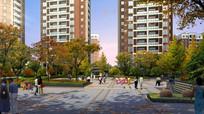 小区绿地广场休闲空间jpg