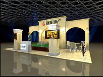 新城地产销售展厅模型