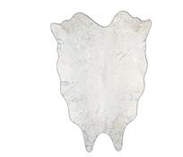 雪白色动物皮地毯 skp