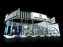 中铁电气技术展厅模型 max
