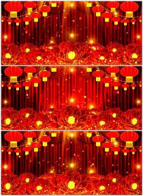 2017大型晚会新年春节歌曲舞蹈LED背景
