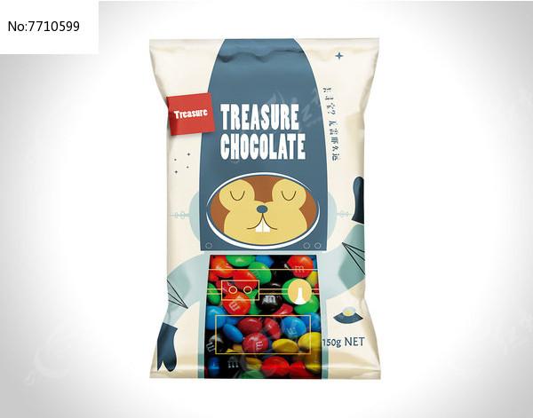 小松鼠食品糖豆包装图片