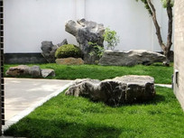 草坪景观石装饰