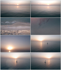大海帆船一帆风顺视频
