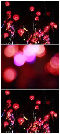 灯会环境空镜实拍高清视频素材