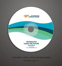 简约软件光盘封面设计