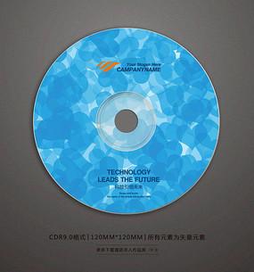 精美婚礼视频光盘贴纸设计 CDR