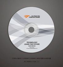 精品企业宣传视频光盘贴纸设计