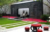 太湖石景观墙面装饰