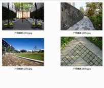 特色广场铺装现代风格景观实景图 JPG