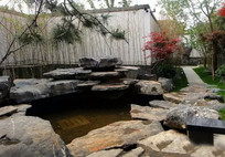 园林水景叠石