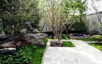 园林自然石块装饰
