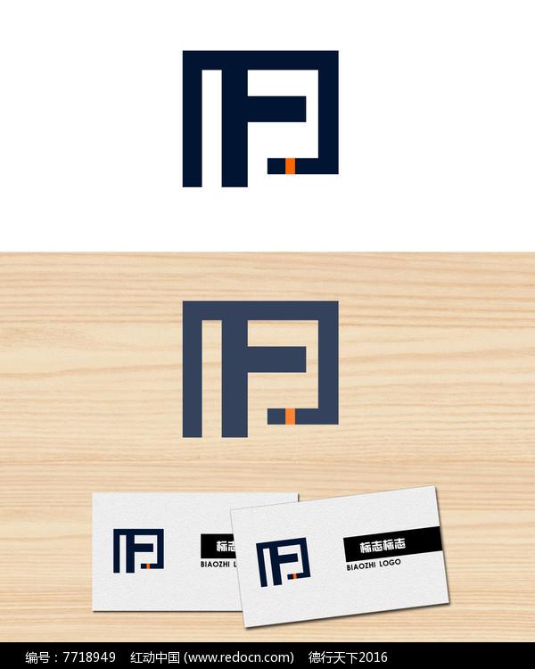 字母F公司logo标志图片