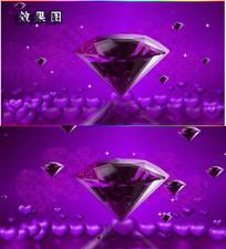 紫色婚庆庆典视频AVI背景视频