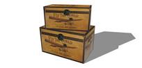 木箱子收纳盒