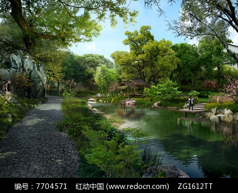 苏州园林公园景观图片