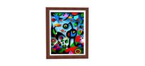 抽象画室内装饰