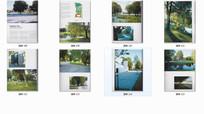 国外公园广场空间景观实景图
