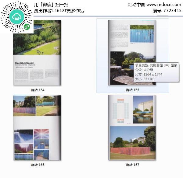 蓝色棒花园装置图片
