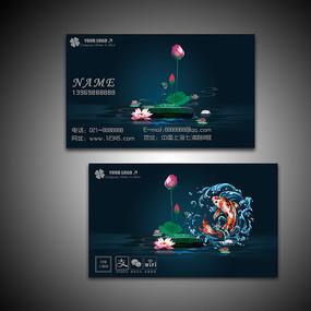名片 鱼塘微生物水质净化剂包装设计 中国渔政保护水域海洋渔业汇报