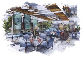 现代茶餐厅