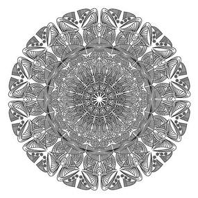 玫瑰结构平面构成