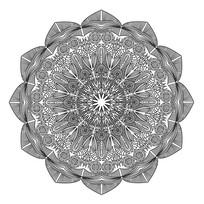 平面构成的精美环形图案