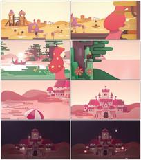 童话世界视频模板