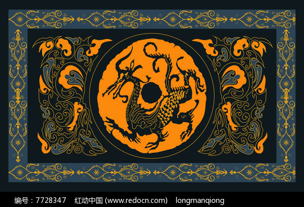 中国风电视背景墙设计图片