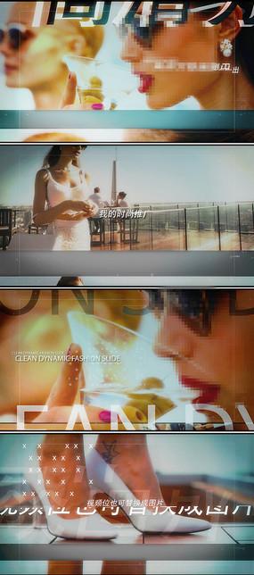 时尚产品推广视频广告片头模板