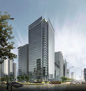 办公楼建筑设计 JPG