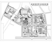 湖州师范学院校园规划总平面