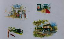 室内设计手绘 JPG