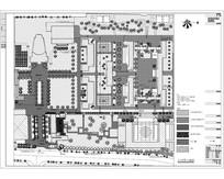扬州中学校园景观设计总图